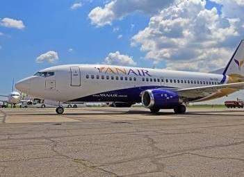 Украинская авиакомпания «YanAir» желает летать в Израиль