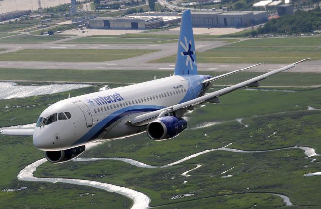 Interjet возобновил полеты более 50% снятых с эксплуатацaии самолетов SSJ 100