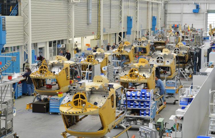 Количество поставок и заказов Airbus Helicopter растет